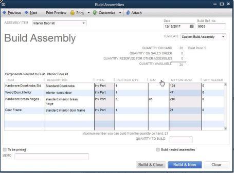 Quickbooks Enterprise Version 14