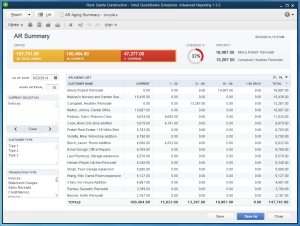 QuickBooks Enterprise Advanced Reporting Module