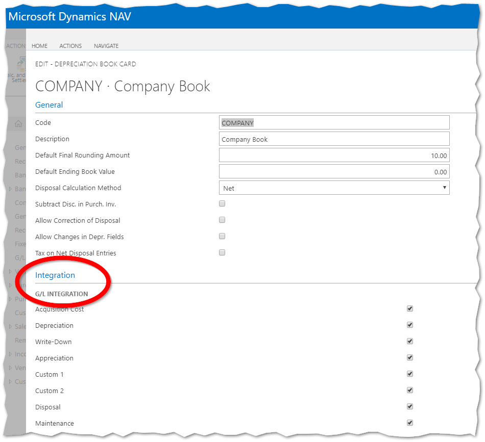 How to Reverse a Fixed Asset Disposal in Dynamics NAV 2017